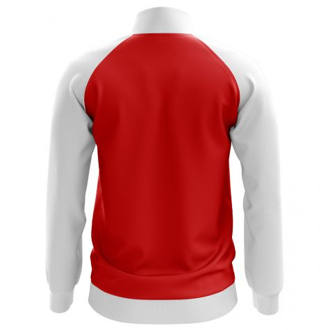 Croatia Concept Football Track Jacket (Red)