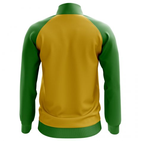 Brazil Concept Football Track Jacket (Yellow)