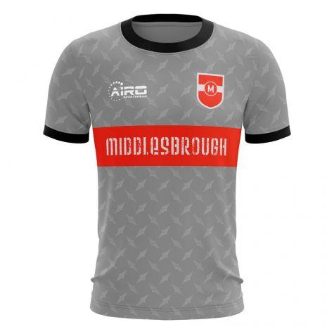 2020-2021 Middlesbrough Away Concept Football Shirt (Ayala 4)