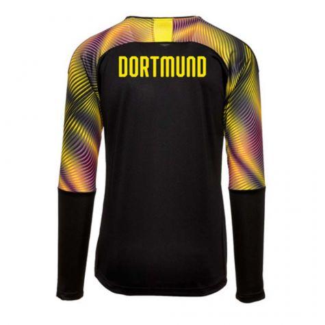 buy online 11283 ba00a Borussia Dortmund 2019-2020 Third Goalkeeper Shirt Black (Kids)