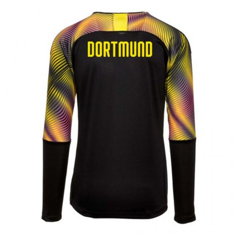 buy online e6b55 ef044 Borussia Dortmund 2019-2020 Third Goalkeeper Shirt Black (Kids)