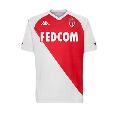 2020-2021 AS Monaco Kappa Home Shirt (Kids) (JEMERSON 5)