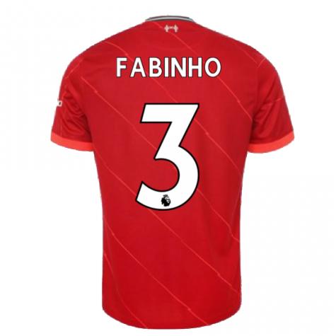 Liverpool 2021-2022 Home Shirt (FABINHO 3)