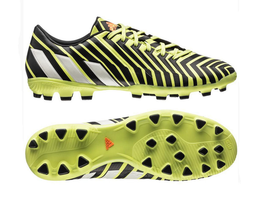 19a52620d7e5 adidas Predator Absolado Instinct AG Football Boots (Yellow-White-Grey)