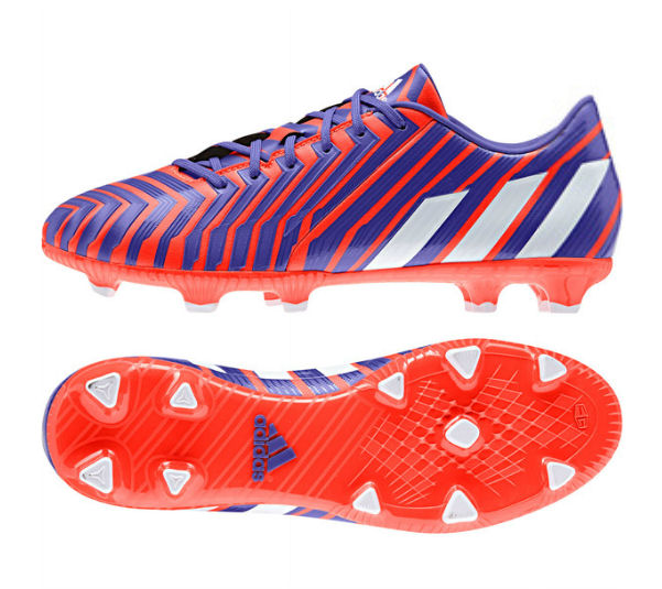 on sale bb195 201f6 adidas Predator Absolado Instinct FG Football Boots (Red-White-Night)