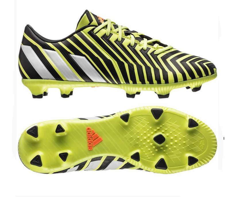 adidas predator absolado istinto fg scarpe da calcio (giallo - bianco