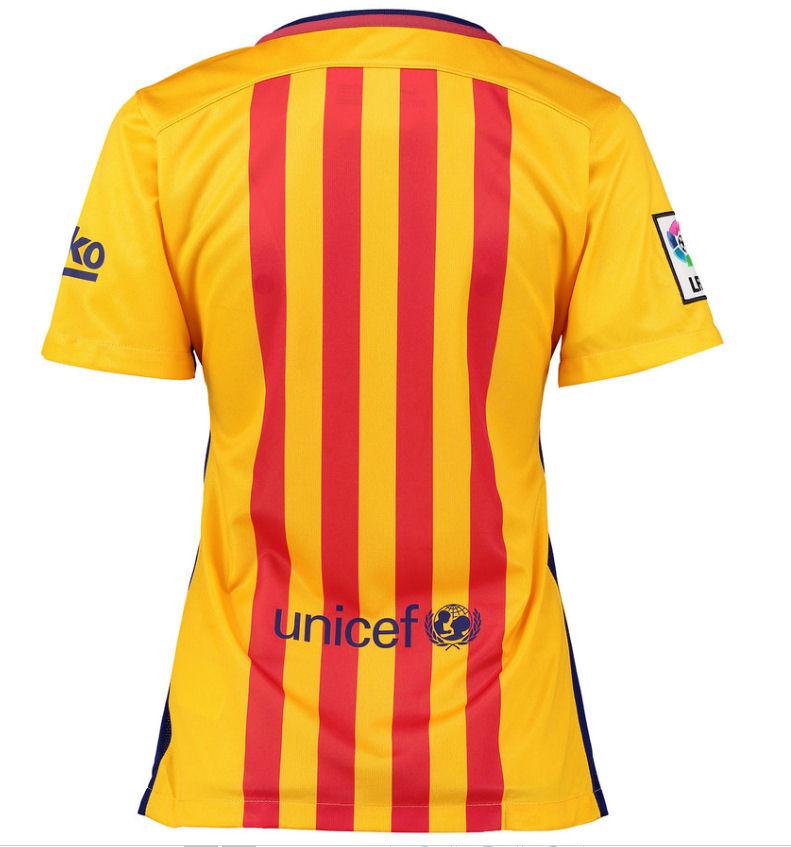 Barcelona 2015-2016 Ladies Away Shirt  658950-740  -  66.40 Teamzo.com fc2eaa11b