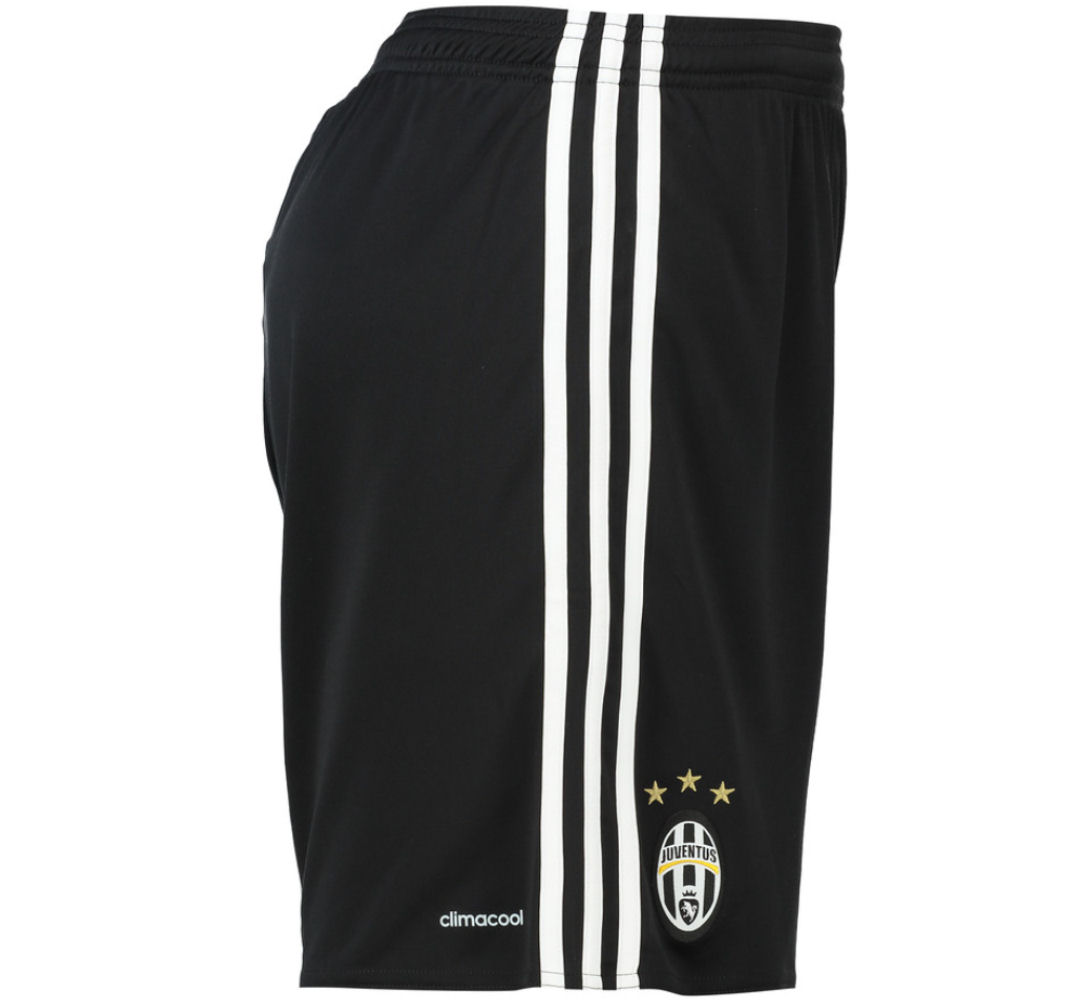 5037f0036 Juventus 2016-2017 Home Shorts (Black)  AI6246  -  31.69 Teamzo.com