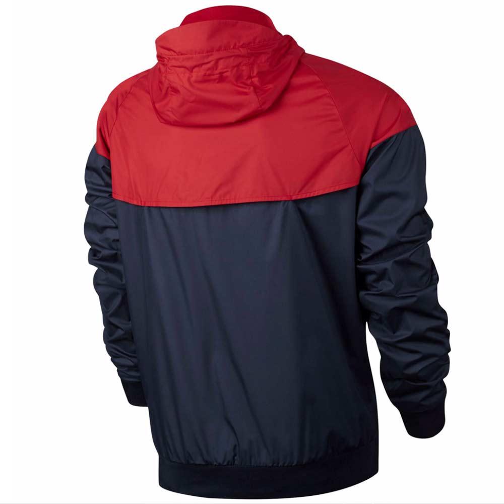 2016 2017 PSG Nike Authentic Windrunner Jacket (Wolf Grey)