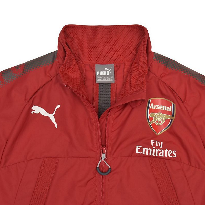 7d3671d6b2d6 Arsenal 2017-2018 Vent Stadium Thermo-R Jacket (Chilli Pepper) - Kids   75213003  -  52.11 Teamzo.com