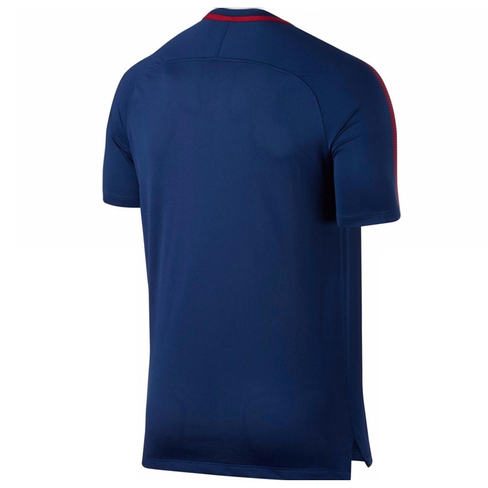 3bd661bd0 AS Roma 2017-2018 Training Shirt (Royal Blue)  855162-455  -  41.93  Teamzo.com