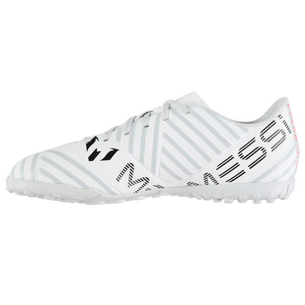 2b52fce4252 Adidas Nemeziz Messi 17.4 Mens Astro Turf Trainers (White-Orange) -  66.25  Teamzo.com