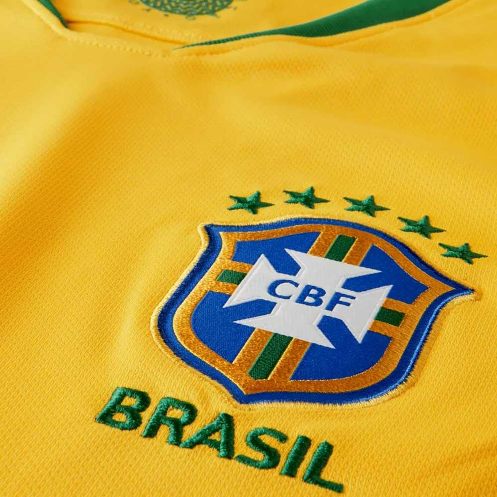 522151e60f5db Brazil 2018-2019 Home Shirt (Kids)