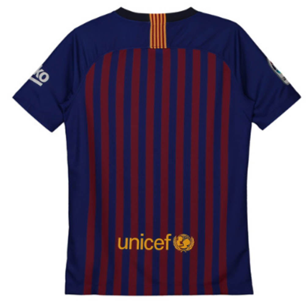 72224de82ab Barcelona 2018-2019 Home Vapor Match Shirt (Kids)  894489-456  -  107.76  Teamzo.com
