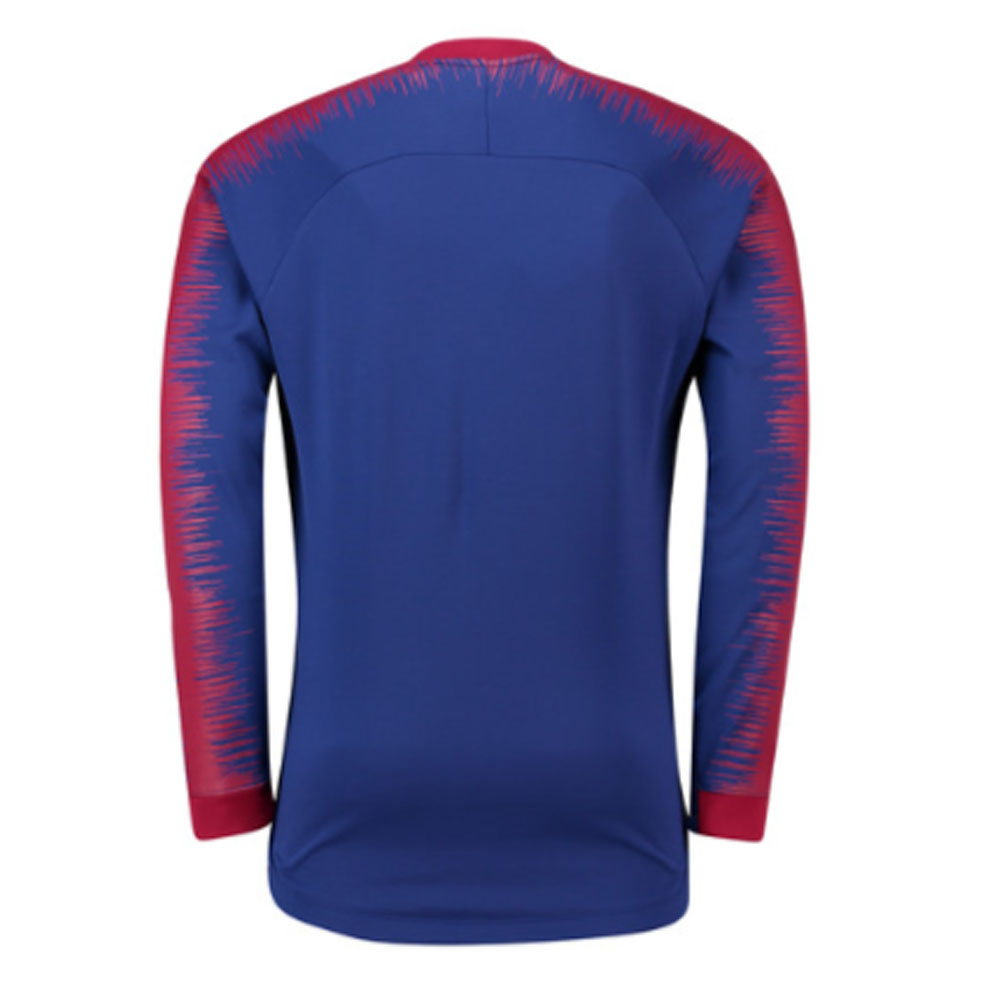 new concept d9344 0c7f6 Barcelona 2018-2019 Anthem Jacket (Blue)