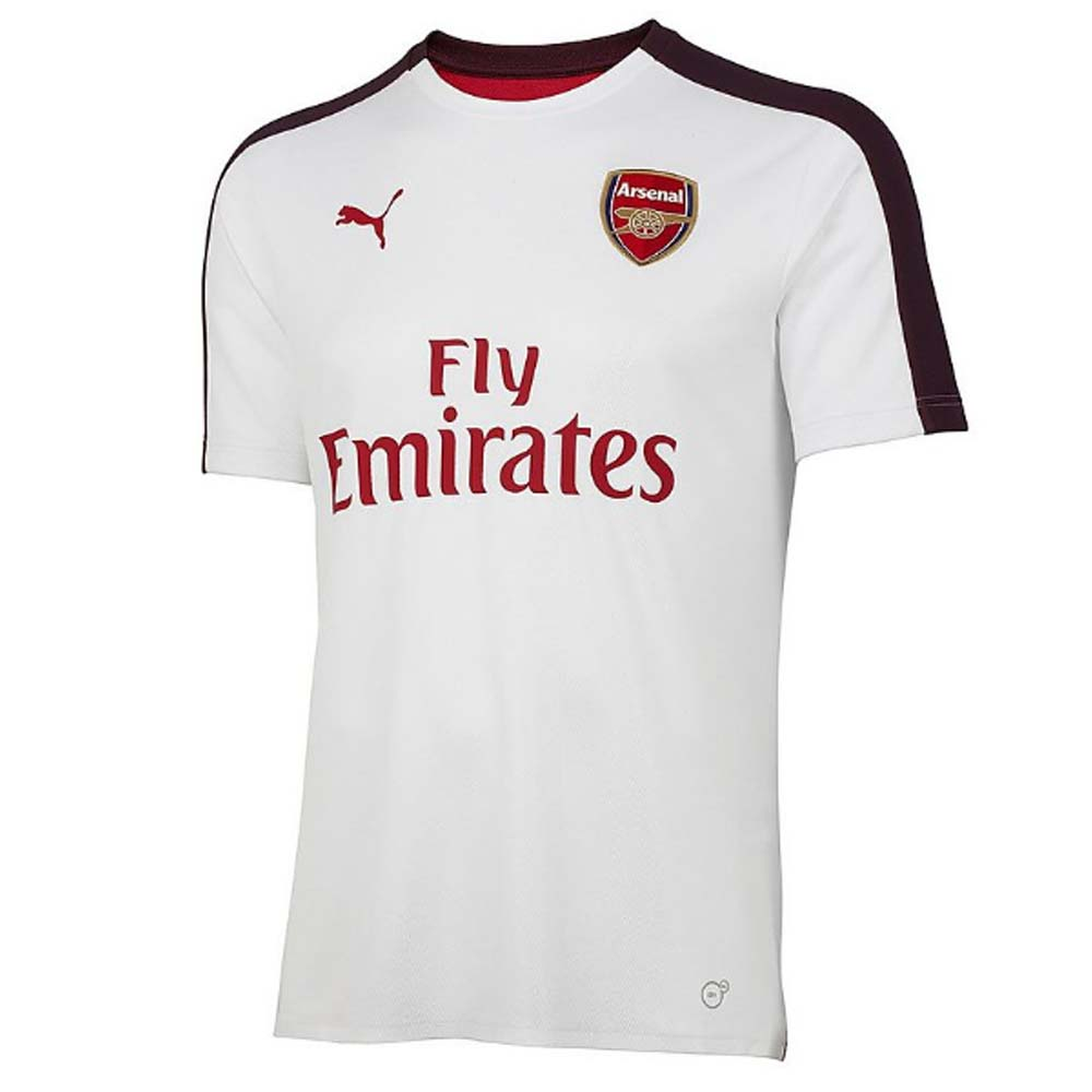 d82f257a2 Arsenal 2018-2019 Stadium Jersey (White)  75325610  -  60.85 Teamzo.com