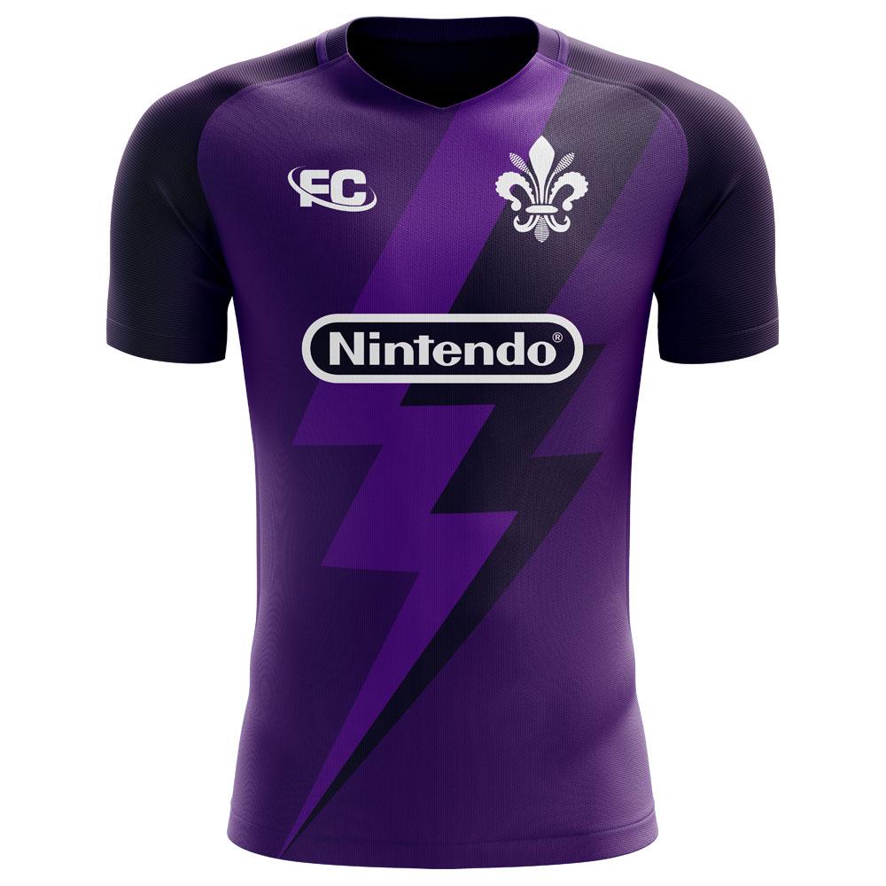 2020-2021 Fiorentina Fans Culture Home Concept Shirt (Hagi 11) - Kids