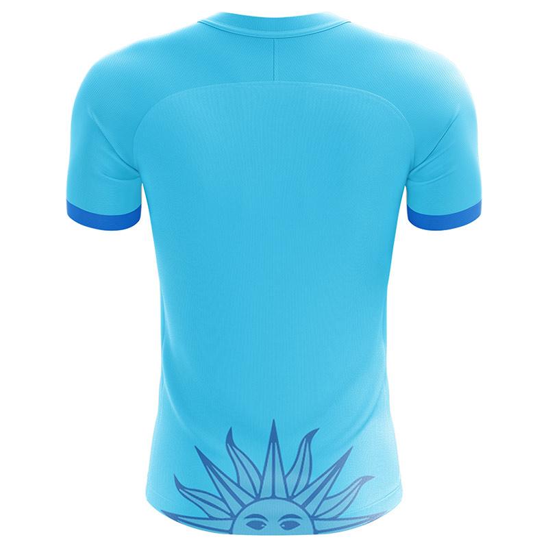 e2d38dcbc 2018-2019 Uruguay Fans Culture Concept Home Shirt (L. Suarez 9)   URUGUAYFCH-131598  -  59.70 Teamzo.com