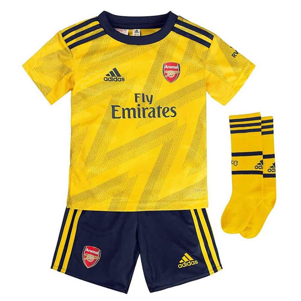 2019 2020 Arsenal Adidas Away Little Boys Mini Kit Tierney 3 Eh5655 158343 77 93 Teamzo Com