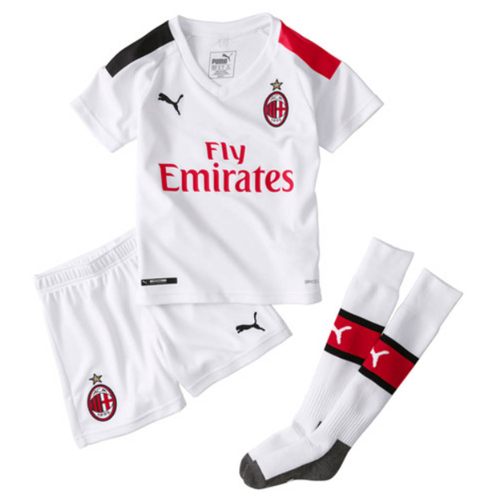 2019-20 AC Milan Away Mini Kit (CALHANOGLU 10)