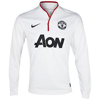 the best attitude e2f3e e3764 Man Utd 12-13 Long Sleeve Away Shirt (Nani 17) - Kids