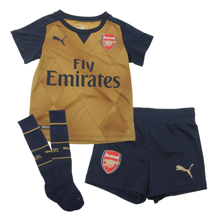 75bff15a5 Arsenal 2015-2016 Away Baby Kit  74803208  -  32.80 Teamzo.com