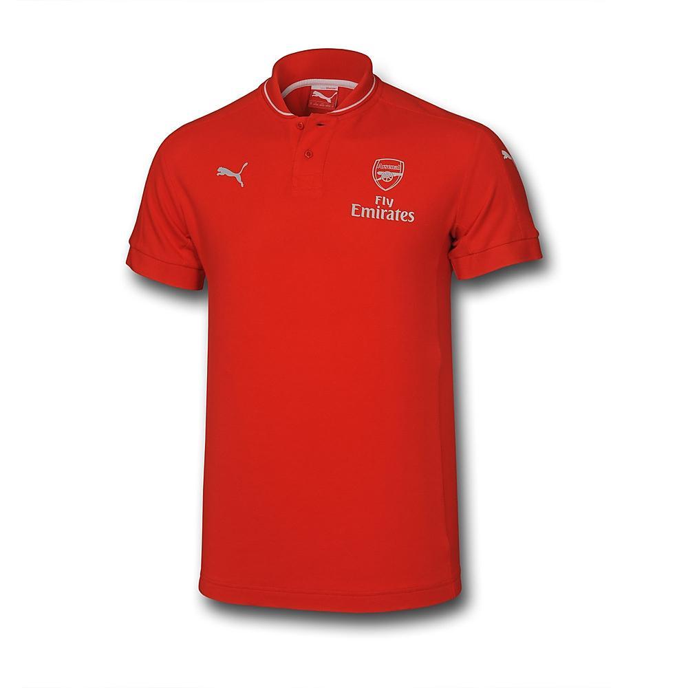 Arsenal 2015 2016 Performance Polo Shirt Red Kids