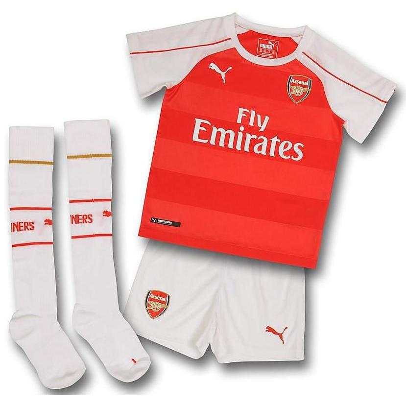 db34cdd04 Arsenal 2015-2016 Home Mini Kit  74802801  -  32.80 Teamzo.com