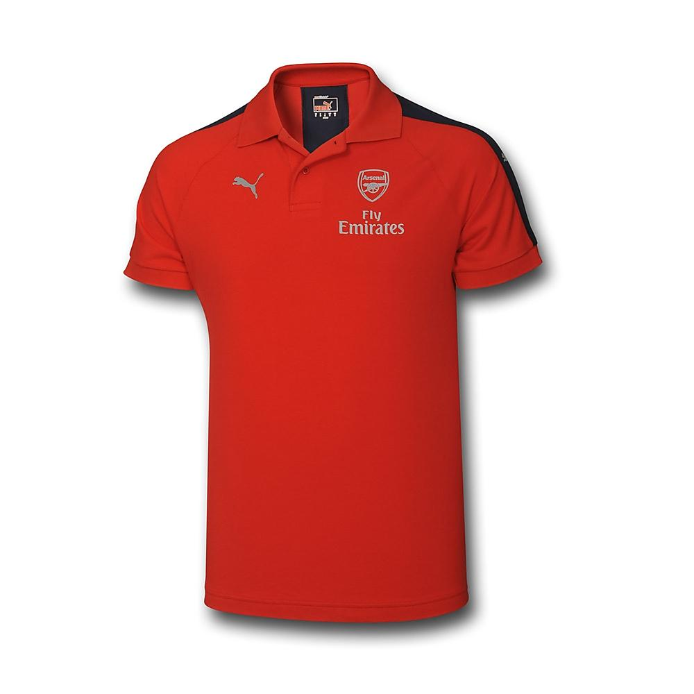 Arsenal 2016-2017 Casual Performance Polo Shirt (Red)  74978018M ... 87fa5a634