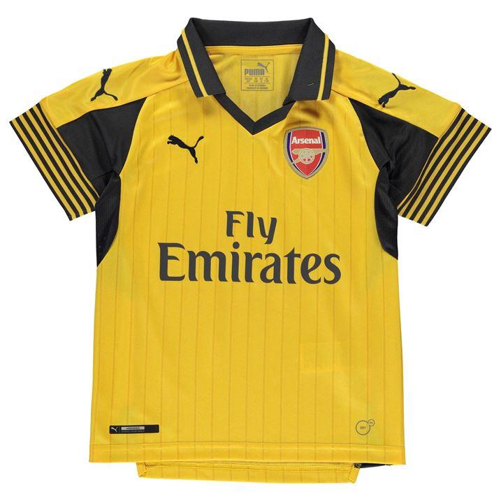 0bb1e87da Arsenal 2016-2017 Away Football Shirt (Kids)  74972103  -  50.39 ...