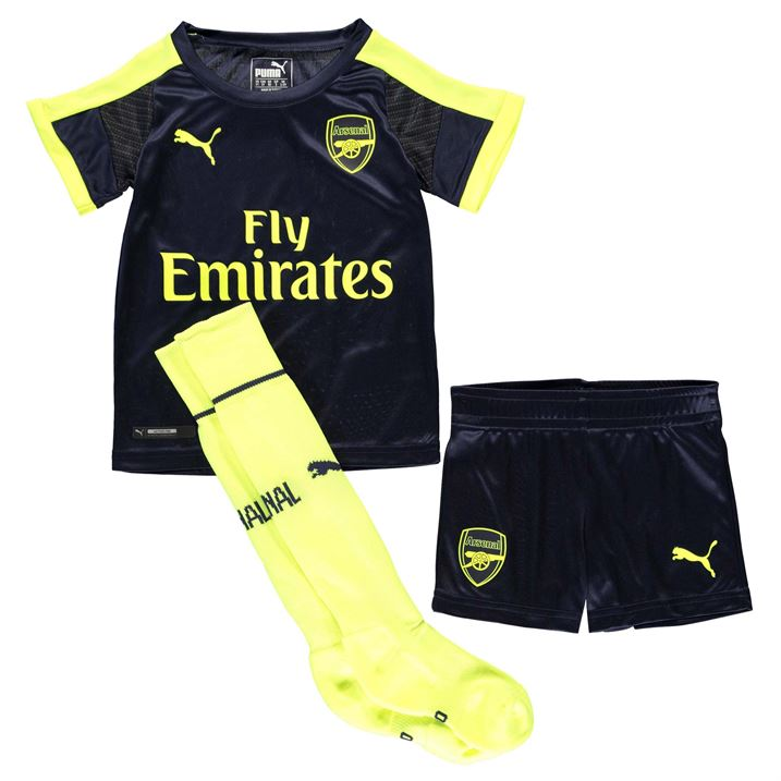 a437f3355 Arsenal 2016-2017 Third Cup Mini Kit  74973405  -  50.00 Teamzo.com