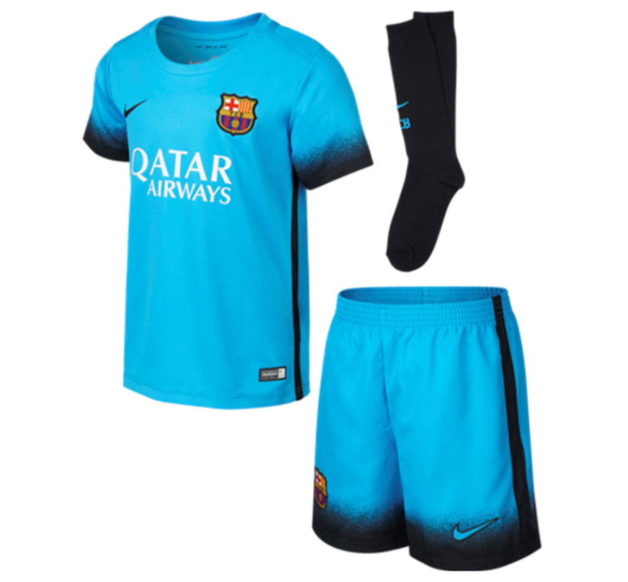 Barcelona 2015-2016 Third Mini Kit  658708-426  -  52.67 Teamzo.com a850f3a9b