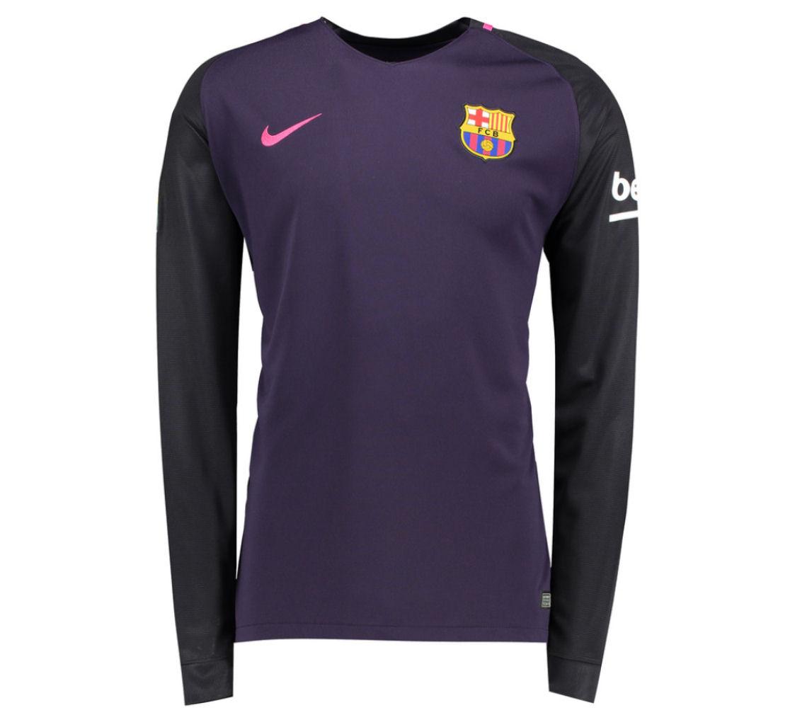 d1f330e2b ... Barcelona 2016-2017 Away Long Sleeve Shirt 776886-525 - 84.50  Teamzo.com ...