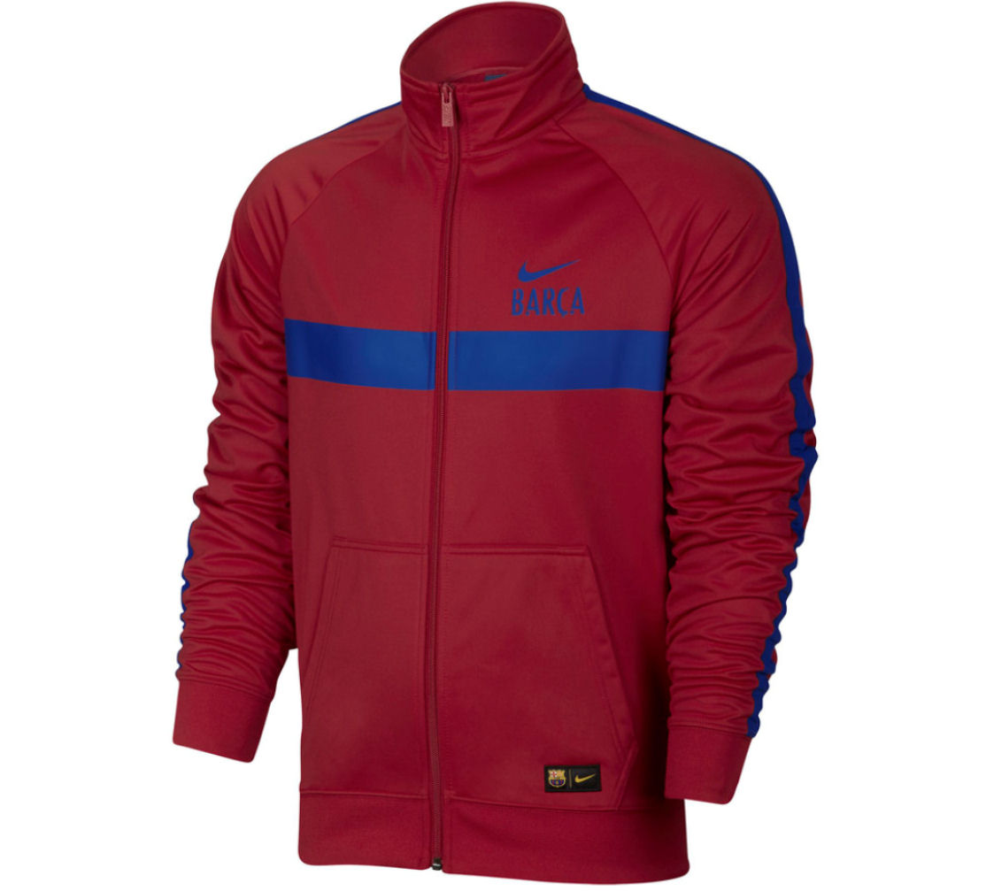 hot sale online ccafa b4d55 Barcelona 2016-2017 Core Trainer Jacket (Red)