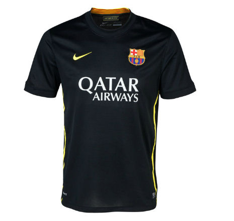 2f9dd5360 2013-14 Barcelona Third Nike Football Shirt  36508  -  46.38 Teamzo.com