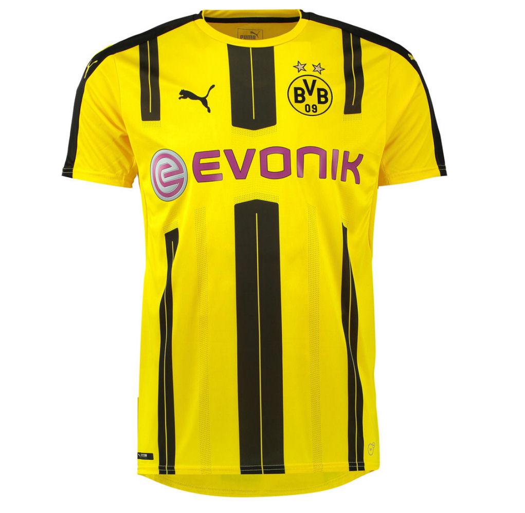 e1c029aa5b7 Borussia Dortmund 2016-2017 Home Soccer Shirt (Big Sizes) [74982101P] -  $66.15 Teamzo.com