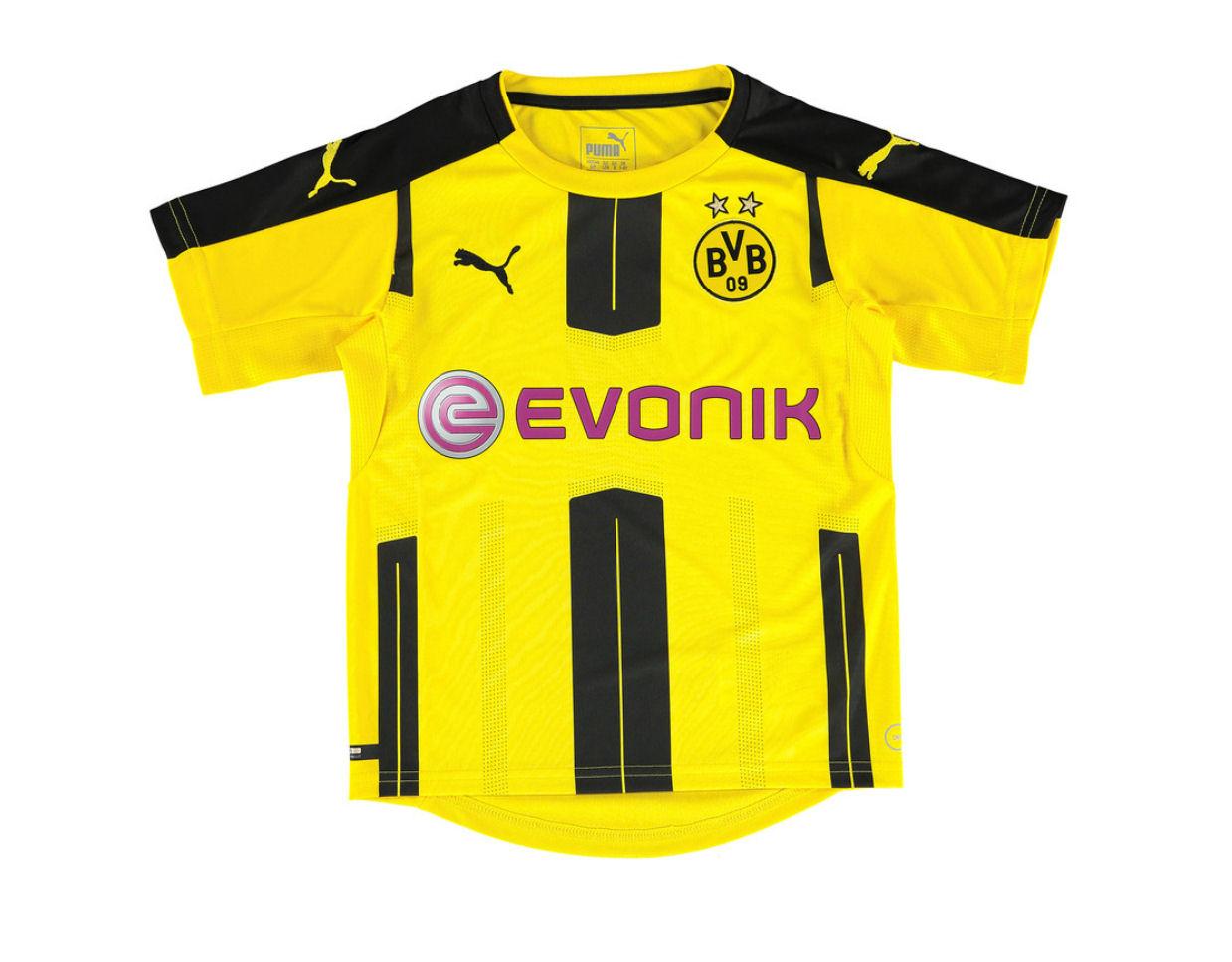 pretty nice c84c8 06f74 Borussia Dortmund 2016-2017 Home Shirt (Kids)