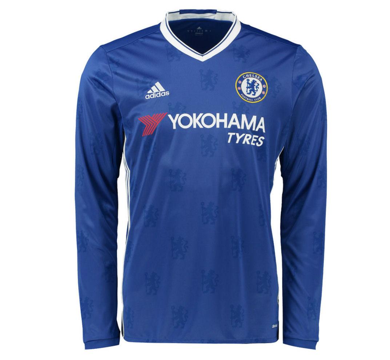 c912b2ab3 ... Chelsea 2016-2017 Home Long Sleeve Shirt AI7122 - 71.00 Team Real Madrid  ...