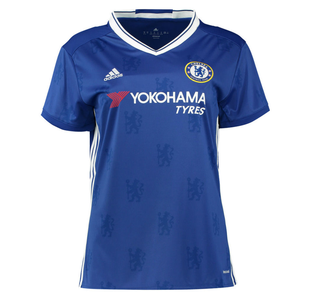The Chelsea FC /19 Home Jersey was unveiled today by Nike Soccer. The new kit, set to be worn by the men's women's and academy teams, features a .