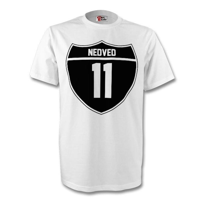 9fa46fc09 Pavel Nedved Juventus Crest Tee (white) - Kids   TSHIRTWHITEKIDS ...