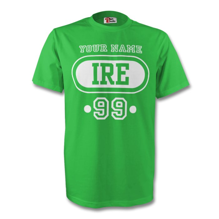 Ireland Ire T-shirt (green) Your Name