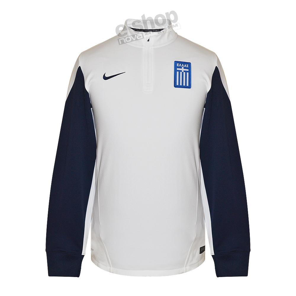 Nike jacket greece - Greece 14 15 Midlayer Training Top White