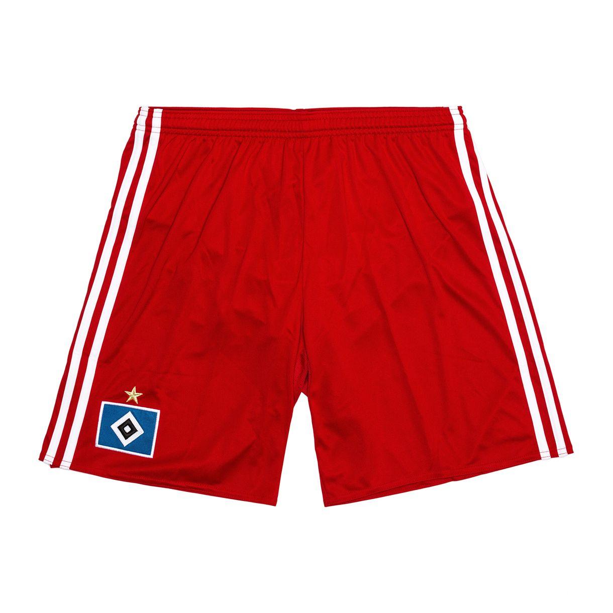 92ce12983c8887 Hamburg 2016-2017 Home Shorts (Red) - Kids  AH5290  -  23.57 Teamzo.com