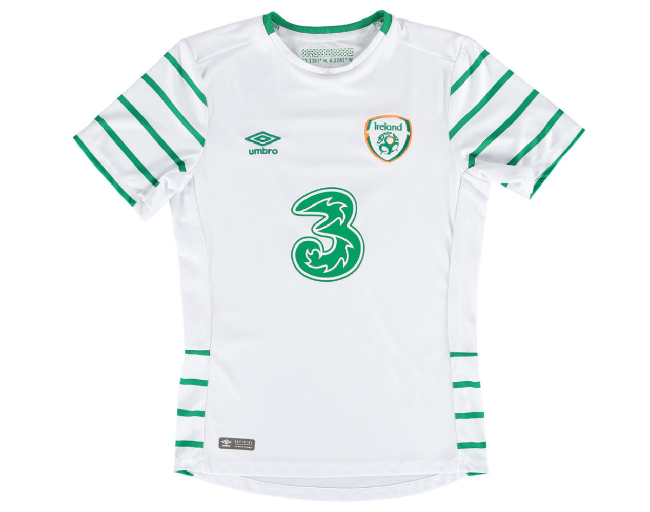 52c619e28af Ireland 2016-2017 Away Shirt (Kids)  75624U-KIT  -  52.06 Teamzo.com