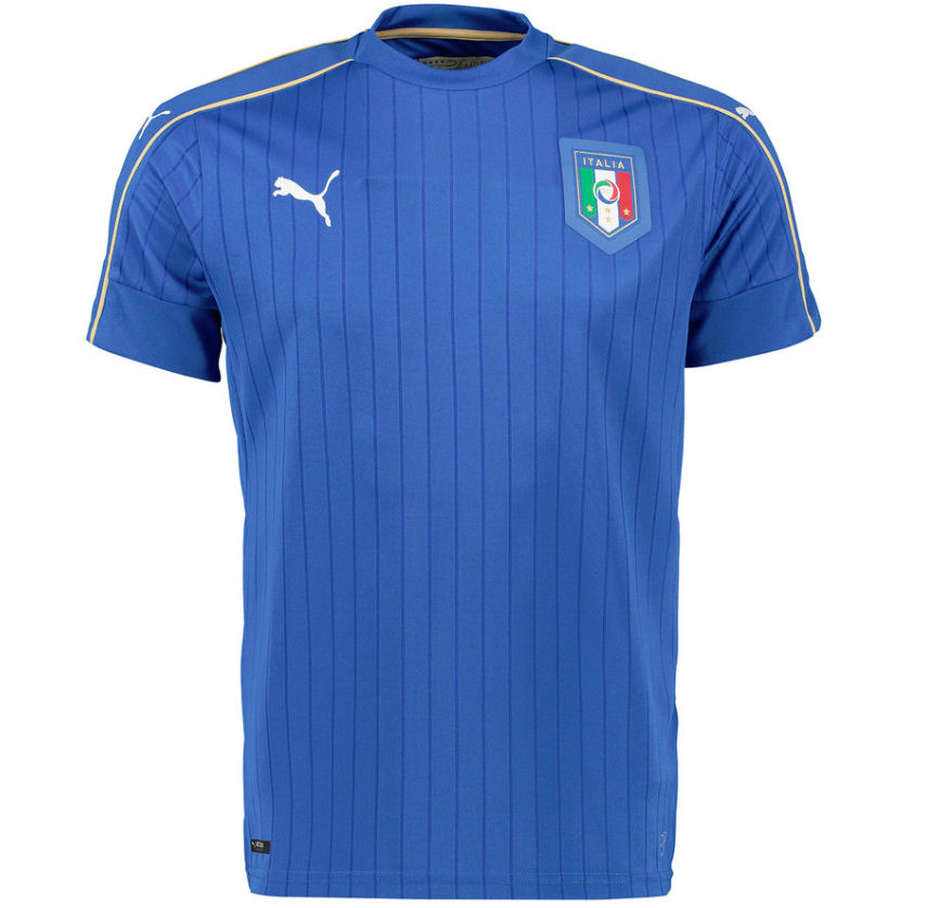 Italy 2016-2017 Home Shirt