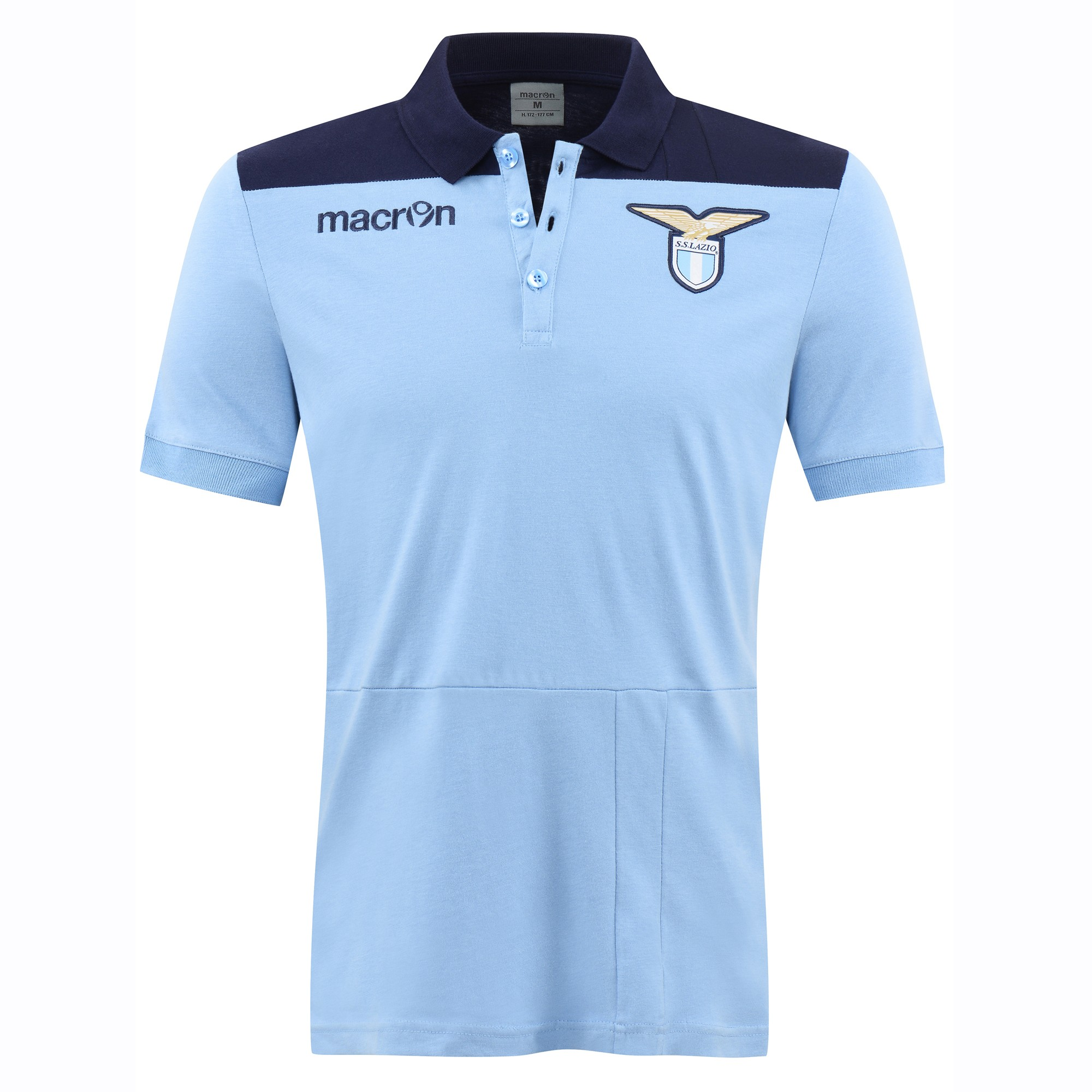 Lazio 2016-2017 Cotton Polo Shirt (Blue)  58089403  -  26.54 Teamzo.com 53973eac8