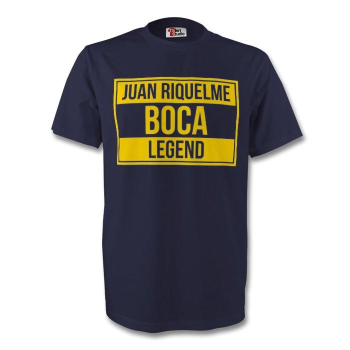 Juan Roman Riquelme Boca Juniors Legend Tee (navy)