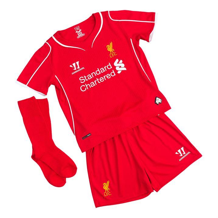 Liverpool Kit History 14: Liverpool 14-15 Home Little Boys Mini Kit [WSTI400]