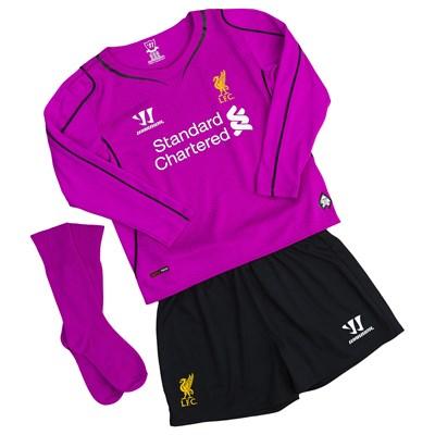 separation shoes 53640 834a2 liverpool goalkeeper kit junior