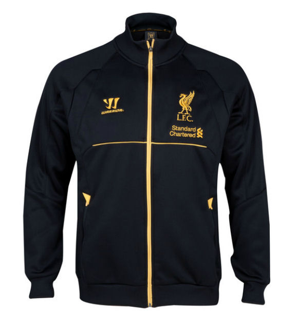 Liverpool 13-14 Travel Jacket (Black)